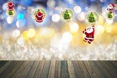 Noël avec la décoration de fête Image stock