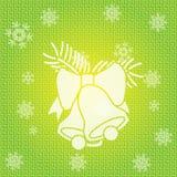Noël Bells de vecteur Image stock