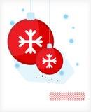 Noël. Billes A Image libre de droits