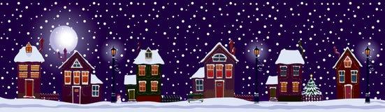 Noël blanc Image libre de droits