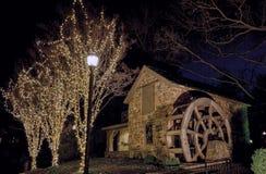 Noël chez vieil Evans Farm, McLean, la Virginie Image libre de droits