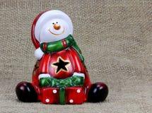 Noël Claus Santa de fond Photos libres de droits