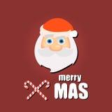 Noël Claus Santa de fond Photo stock