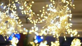 Noël coloré de lumières clips vidéos