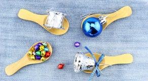 Noël décoratif Photographie stock libre de droits