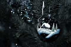 Noël dépressif Image stock