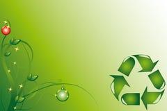Noël d'écologie Photographie stock