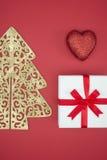 Noël d'amour apprécient le lendemain de Noël de vente et d'achats Photo libre de droits