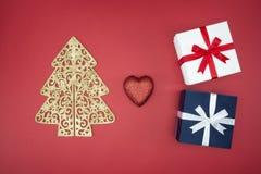 Noël d'amour apprécient le lendemain de Noël de vente et d'achats Photographie stock libre de droits