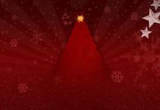 Noël d'arbre illustration libre de droits