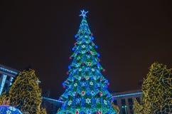 Noël d'arbre Image libre de droits