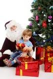 Noël d'enfance Photo stock