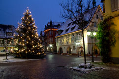 Noël dans Haslach, Allemagne Image libre de droits