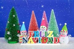 Noël dans l'Espagnol Image libre de droits
