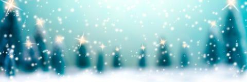 Noël dans la forêt illustration de vecteur