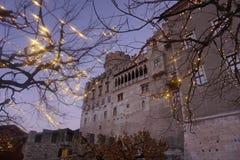 Noël dans Trento photographie stock libre de droits