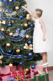 Noël de attente Photos stock