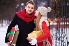 Noël de attente photographie stock libre de droits