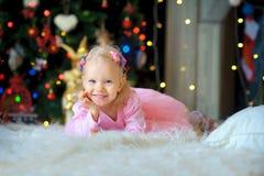 Noël de attente Images libres de droits