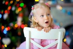 Noël de attente Images stock