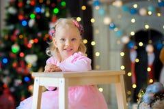 Noël de attente Photos libres de droits