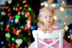 Noël de attente Photo libre de droits