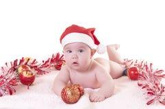 Noël de bébé Photographie stock libre de droits