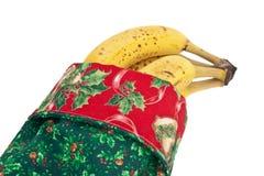 Noël de bananes Photographie stock libre de droits
