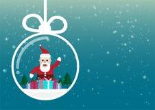 Noël de bande dessinée et saison d'hiver image stock