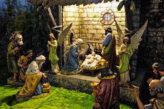 Noël de Bethlehem images stock