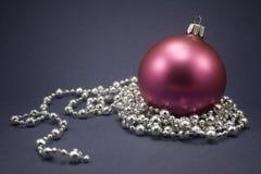 Noël de bille Photo stock