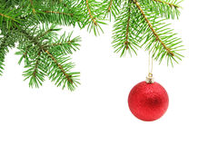 Noël de bille Photographie stock libre de droits