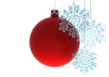 Noël de bille Images stock