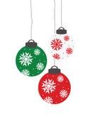 Noël de billes illustration libre de droits