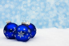 Noël de billes images stock