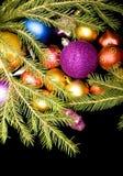 Noël de billes photo stock