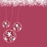 Noël de billes illustration de vecteur