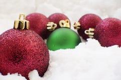 Noël de billes Photos stock