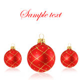 Noël de billes Images libres de droits