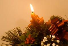 Noël de bougie Photographie stock libre de droits