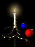 Noël de bougie Image libre de droits