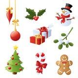 Noël de butoir Images libres de droits