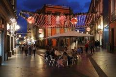 Noël de Canaria de mamie Image libre de droits