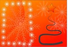 Noël de carte Photos stock