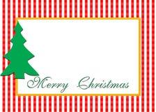 Noël de carte Images libres de droits