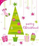 Noël de carte illustration de vecteur