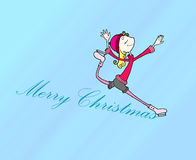 Noël de carte Photo stock