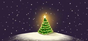 Noël de carte illustration stock