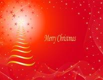 Noël de carte joyeux Images stock