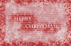 Noël de carte joyeux Illustration Libre de Droits